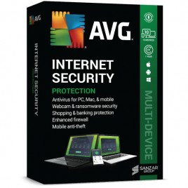 AVG Internet Security Multi-Device (10 Users | 1 Year)