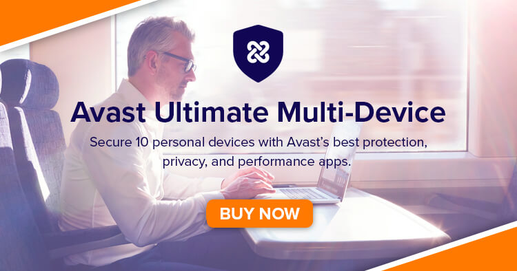 Buy Avast Ultimate Suite Multi-Device (10 Devices | 1 Year)